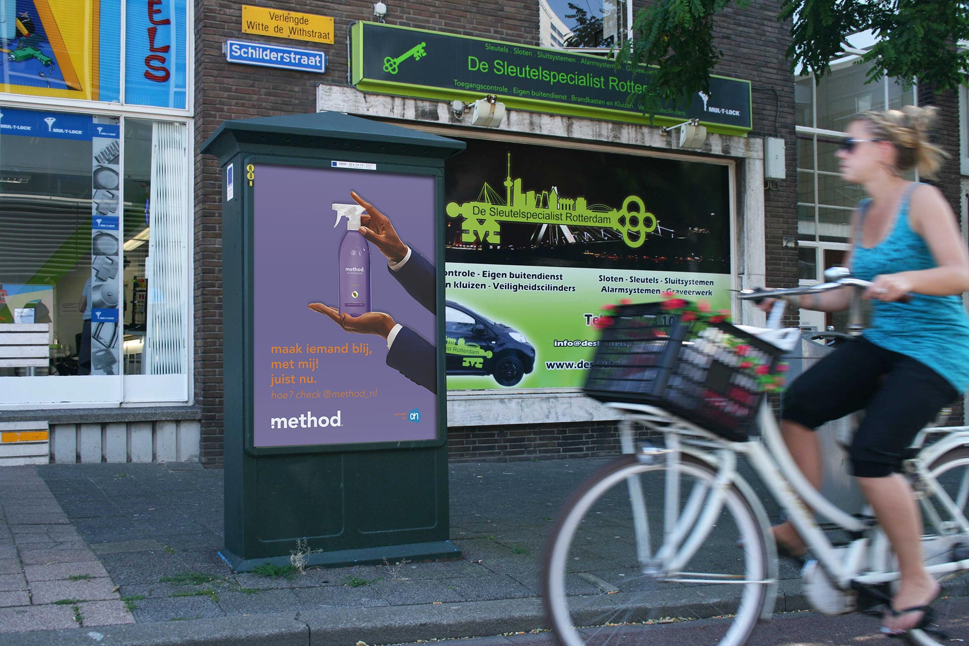 a0 frame reclame outdoor media rotterdam