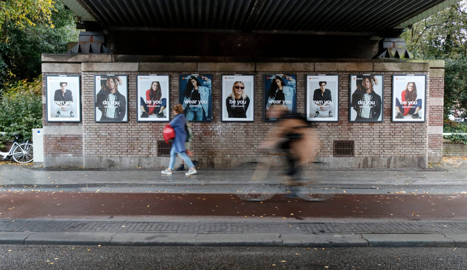 a0 frame reclame outdoor buitenreclame spectacular