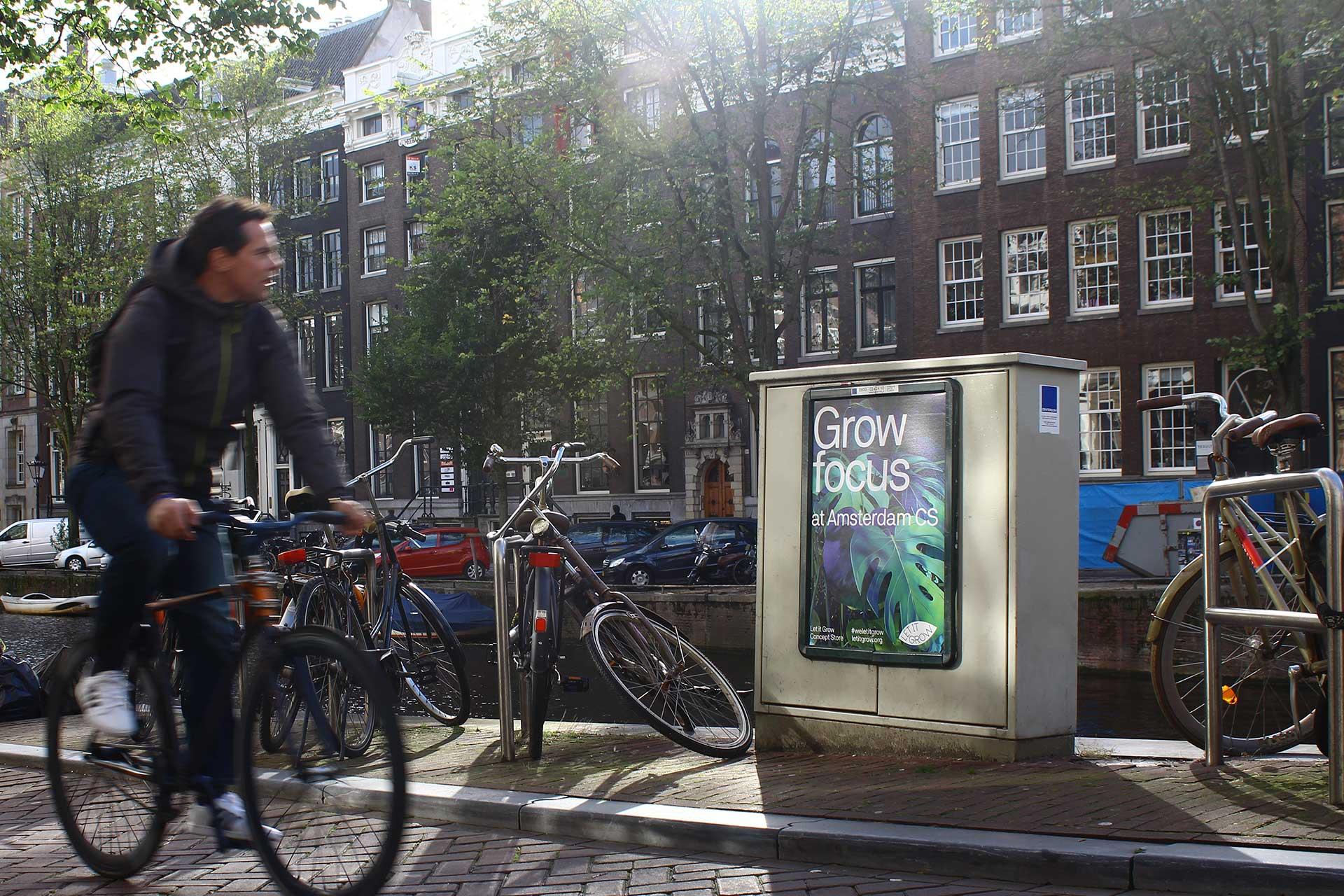 a1 frame reclame buitenreclame Amsterdam