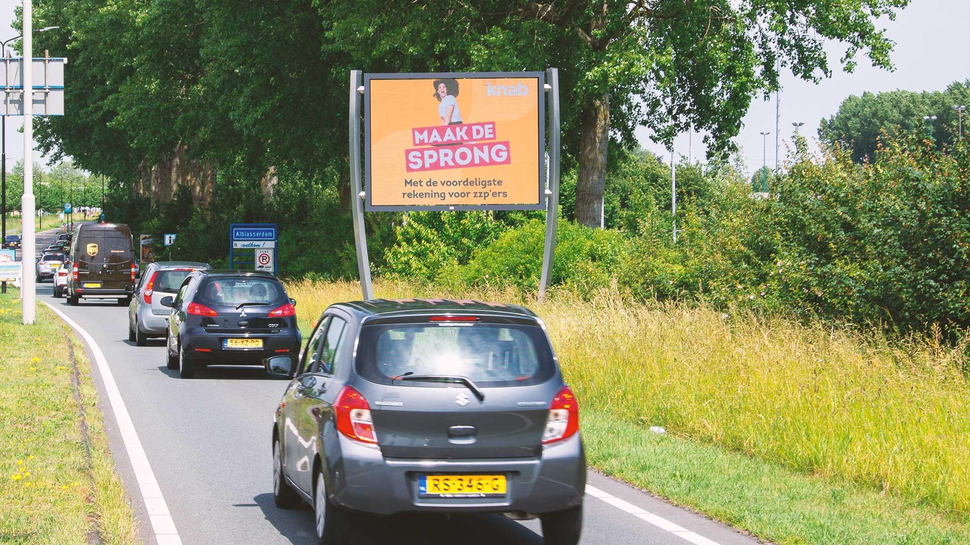 buitenreclame in alblasserdam billboard